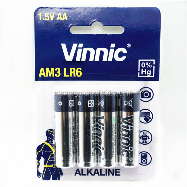 vinnic alkaline battery lr6 dry battery 4pcs blister buy alkaline battery lr6 dry. Black Bedroom Furniture Sets. Home Design Ideas