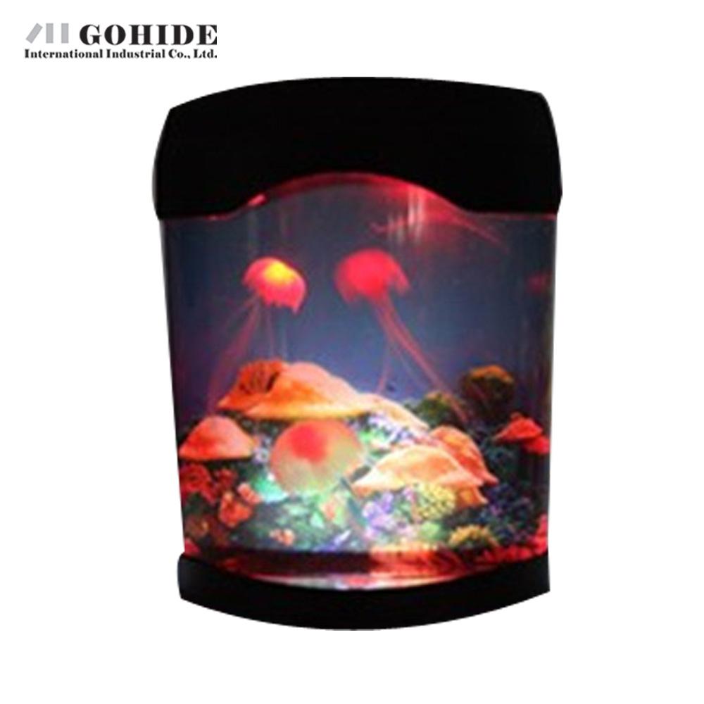 online kaufen gro handel led quallen aquarium aus china led quallen aquarium gro h ndler. Black Bedroom Furniture Sets. Home Design Ideas