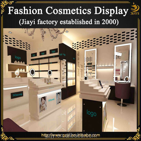 Fashion Interior Cosmetic Shop Furniture Display Design