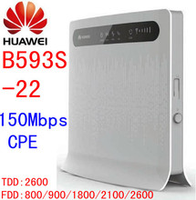 Unlocked Huawei b593 B593s-22 150Mbps 4G lte 3g CPE wifi Wireless Router 4g lte mifi Mobile hotspot dongle pk b593 b880 e5172