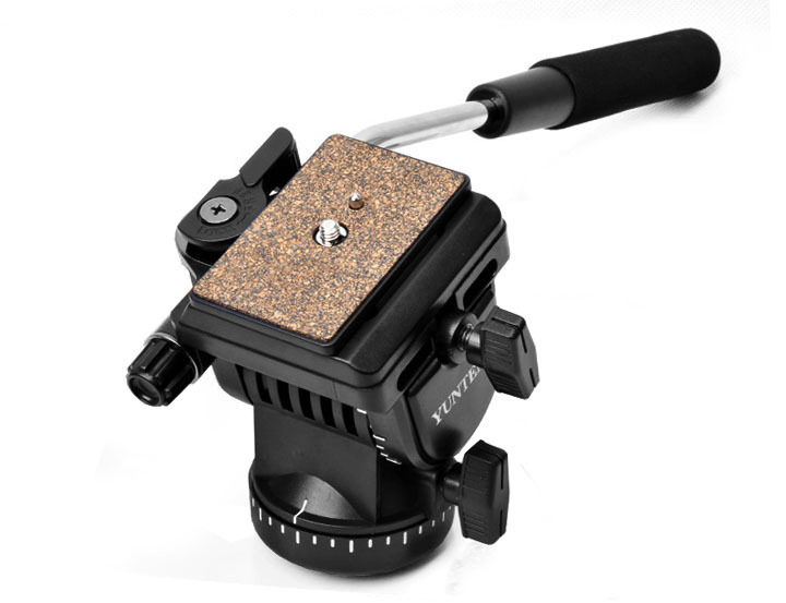 Pro YT-950 Tripod Action Fluid Drag Head Video Camera For DSLR Shooting Filming + Free Shipping