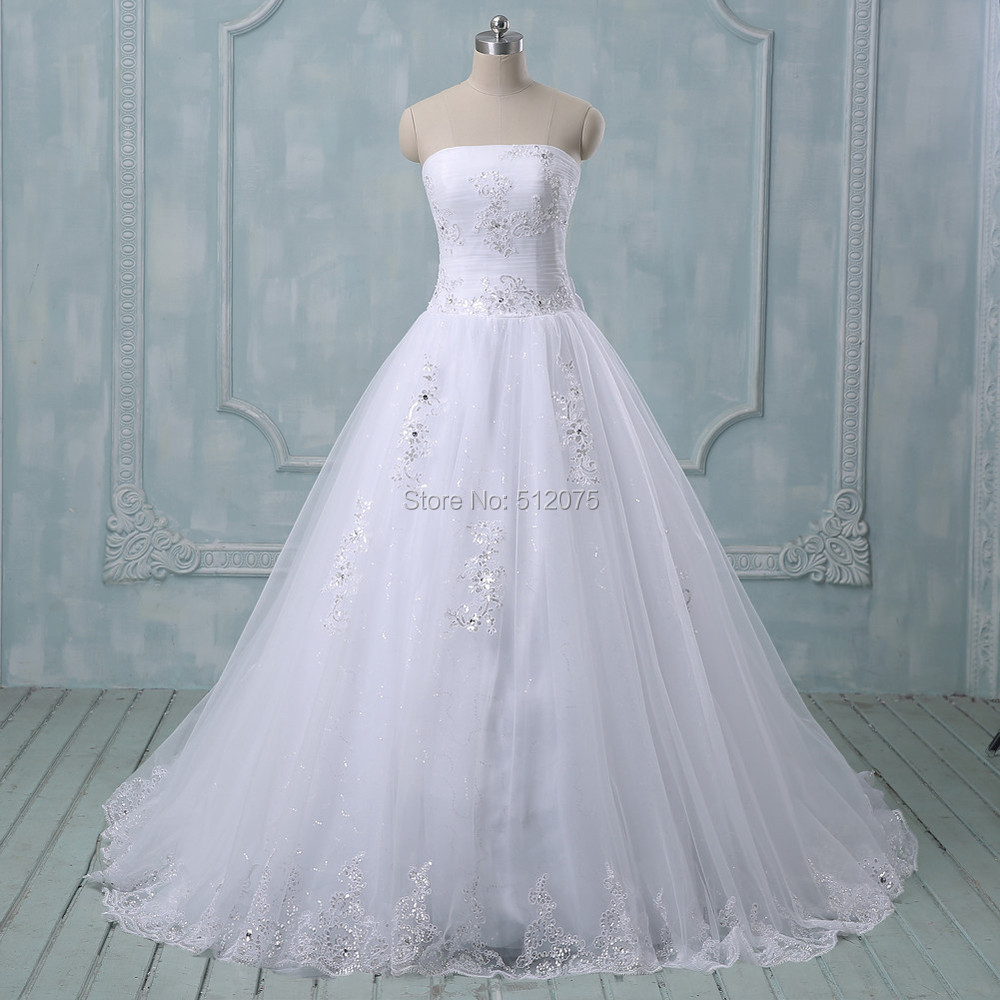 All Lace Wedding Gowns: Aliexpress.com : Buy 2015 New Romantic White/ivory Wedding