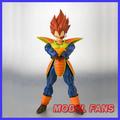 MODEL FANS IN STOCK Dragon Ball Z SDCC Super Saiyan Vegeta SHF Action Figure Free shipping