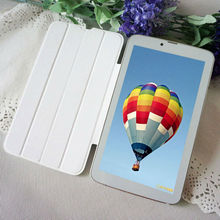 2016 The Cheapest 7 Inch Android Tablets PC 8GB Rom MTK6572 Dual Core 1GB Ram 3G Phone Call Dual SIM Card 7″ Leather Phablet