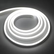 Неоновый трубчатый светодиодный светильник s 1 м-10 м лента с вилкой питания неоновая вывеска цветной Радужный светодиодный светильник для д...(Китай)