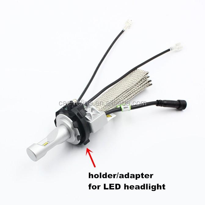 h7 led adaptateur pour vw golf7 led phare h7 ampoule titulaire adaptateur de retenue clip pour. Black Bedroom Furniture Sets. Home Design Ideas