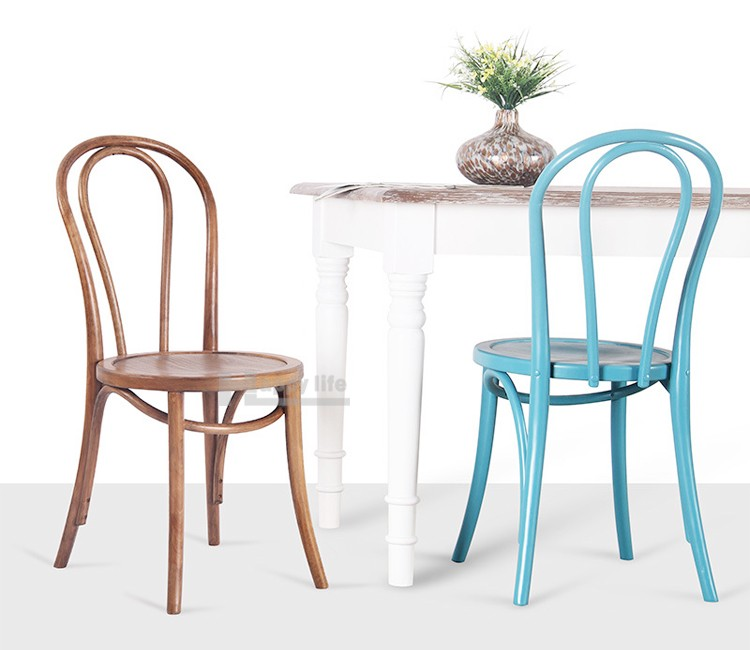 Buy Dining Chair: Antique Stackable Restaurant Dining Thonet Bentwood Chair