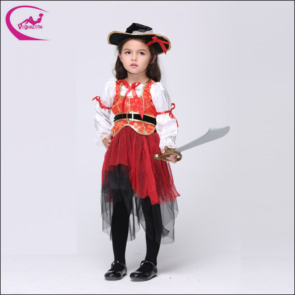 high halloween christmas pirate costumes girls party cosplay costume deguisement enfant girl. Black Bedroom Furniture Sets. Home Design Ideas