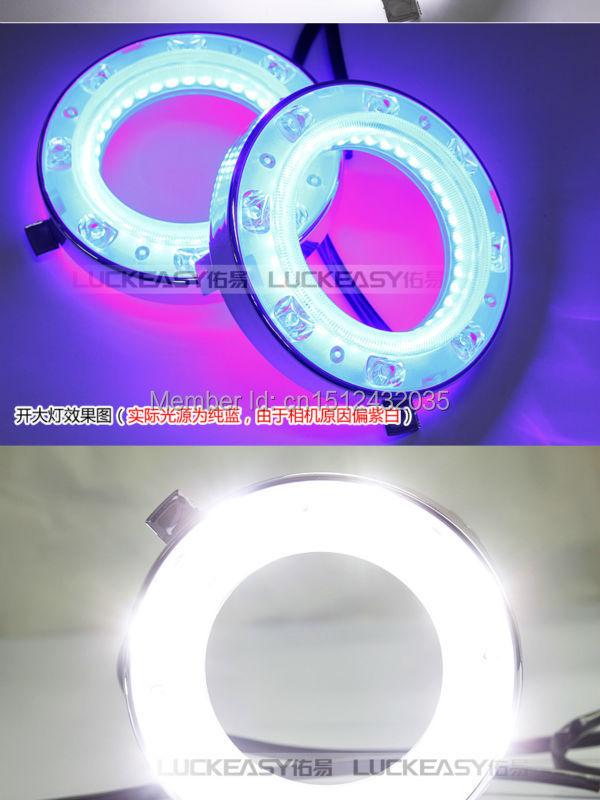 Subaru Forester 2008 - из светодиодов drl дневного бег лёгкие точная замена с поворотник, Руководство лёгкие бар, Синий глаза ангела