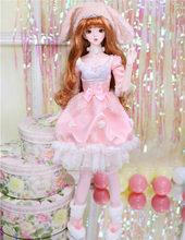 1/3 bjd куклы 62 см Совместное тела куклы белая кожа с волос одежда обувь, Китайский серии знак, AI YoSD MSD SD комплект игрушка подарок ребенку DC(Китай)