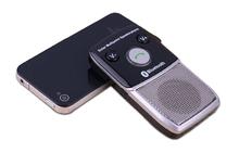 Wireless Car Bluetooth 4.1 Handsfree Kit Speakerphone Solar Powered Charger 10m Distance Support 2 Phones Speaker + 5 languages