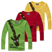 Dětské tričko s dlouhým rukávem s potiskem z Aliexpress