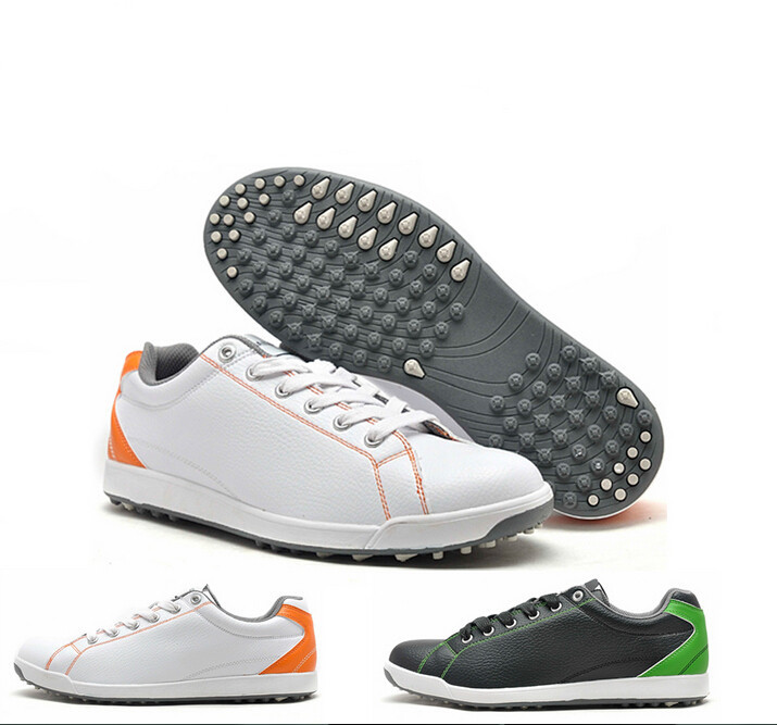 The lowest Price 2015 big brand men's golf shoes men top