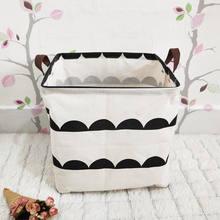 MICCK Многофункциональный складной корзина для хранения для детей разное игрушки бюро баррелей хранения держатель контейнер корзина органай...(Китай)