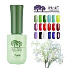 Free shipping 6pcs Inail osmanthus Aroma Beautiful Gel Nail polish 15ml 78 colors for choices
