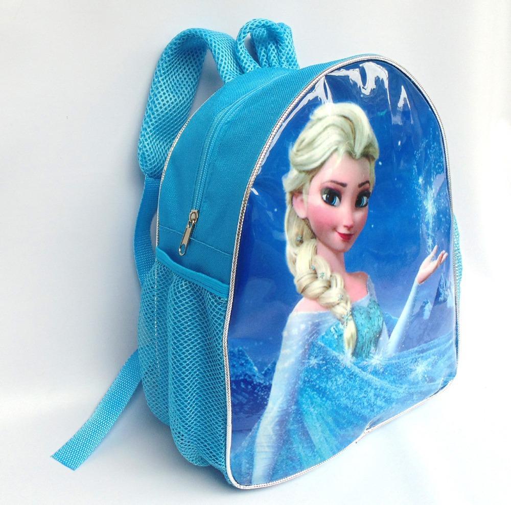 e81765228b47 Snow Queen Children School Bags Printing Cartoon Schoolbag Baby Kids  Backpack For Girls