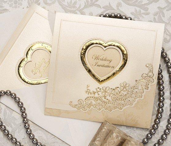 Customize Invitation Card Wedding Cards B0007 Wedding