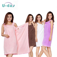 Free shipping! Good selling quality magic super-absorbent towels, bath beautiful ladies fashion slim skirt 5 color optional