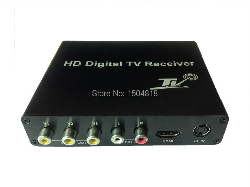 Car DVB T2 160km/h Double Antenna H.264 MPEG4 Mobile Digital TV Box External USB DVB-T2 Car TV Receiver