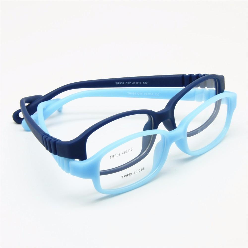 aff8a9ef2e7ee Children Optical Glasses Frame With Strap Size 49
