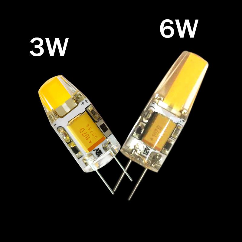 cob cob led lampen g4 12v 3w 6w cob ac12v led g4 lamp te vervangen voor kristal geleid gloeilamp. Black Bedroom Furniture Sets. Home Design Ideas