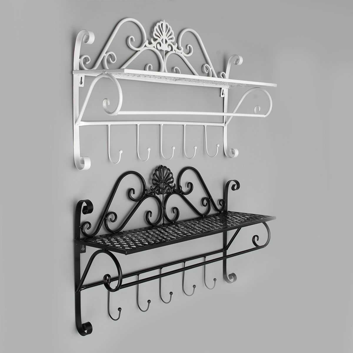 Wrought Iron Bathroom Wall Towel Shelf: Online Buy Wholesale Wrought Iron Bathroom Shelves From
