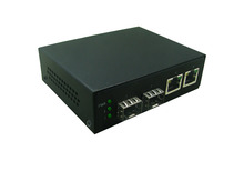 2 Giga SFP and 2 1000Mbps Tx Port Fiber switch Media Converter