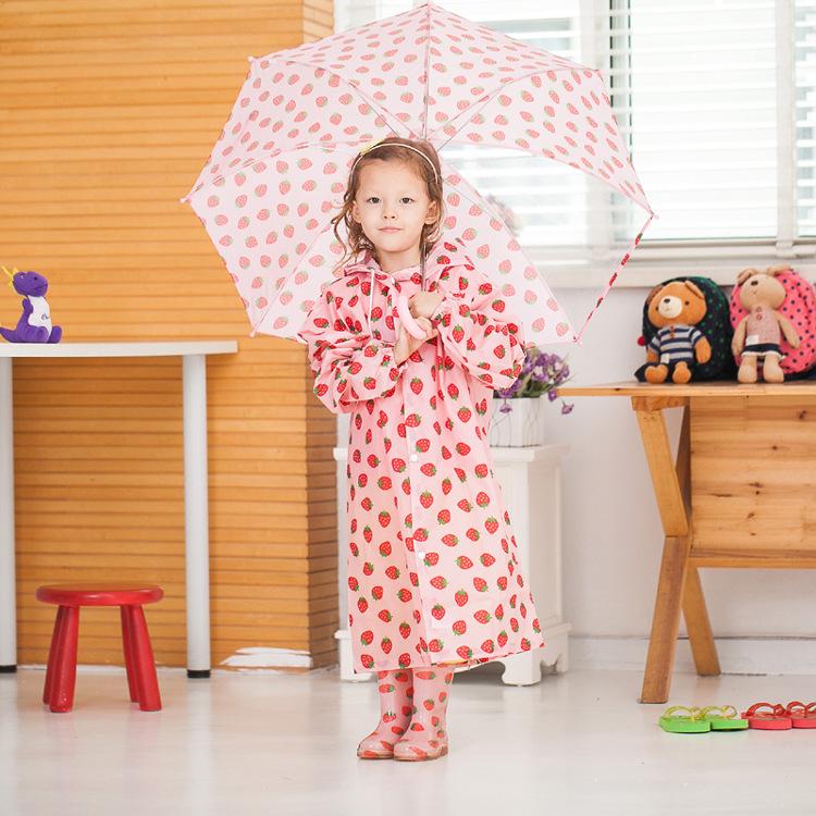 Закрытый воротник дети плащ берри на открытом воздухе дети Rainwears портативная на открытом воздухе дождь передача дождь пончо пальто