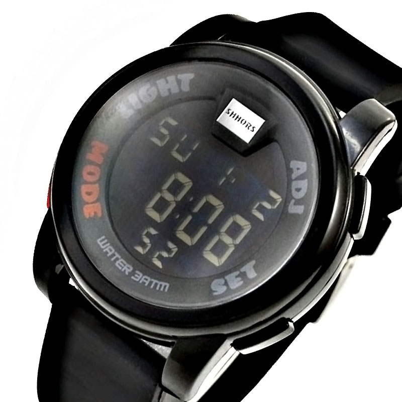 Cheap SHHORS Digital Watches Men Military Green Led digital watch Outdoor Sports Mens Watches ...