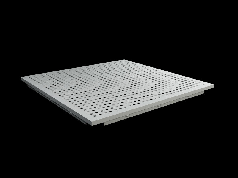 Aluminum Sheet Usg Celotex Acoustical Perforated Suspended