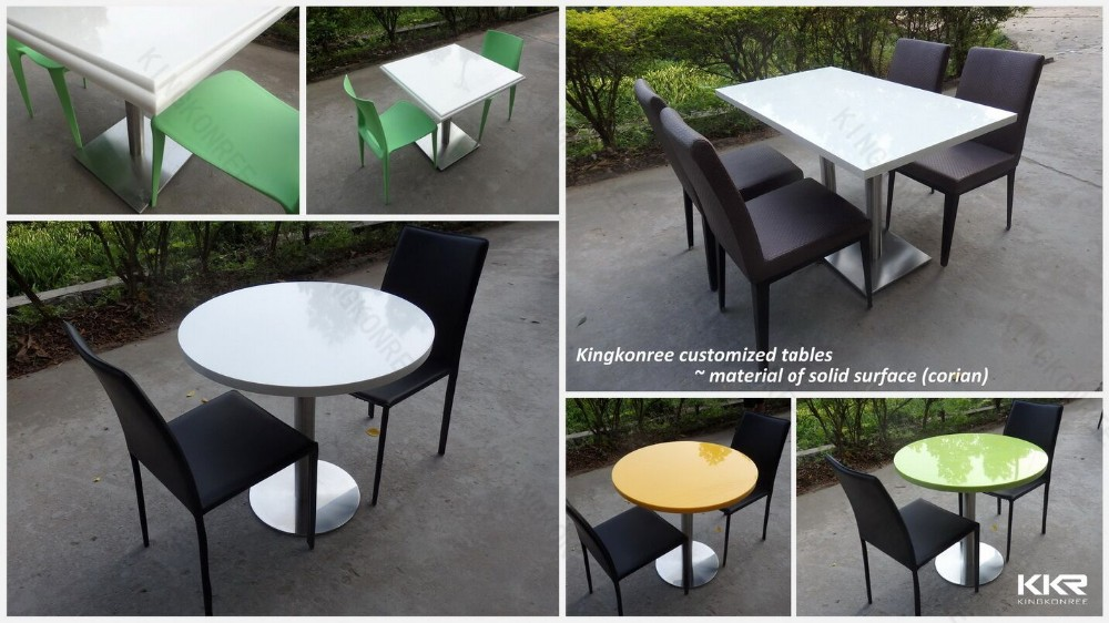 Alimentaire Cour Table Et Chaises Mcdonald De Table