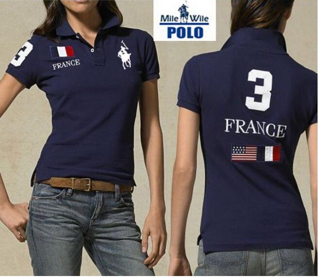Женщины POLO рубашка марка флаг дизайн рубашка приталенный embroibery короткий рукав рубашка для женщины S-XL