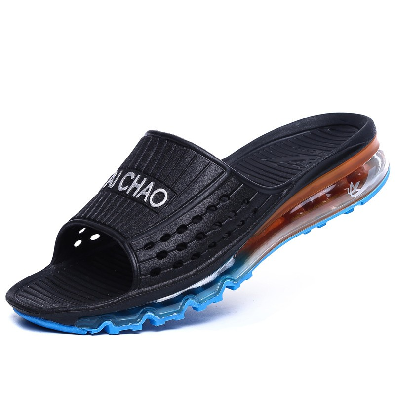 7d6ad9d8c647 Wholesale Famous Brand Design New Men Air Sandals Fashion Men Slides ...
