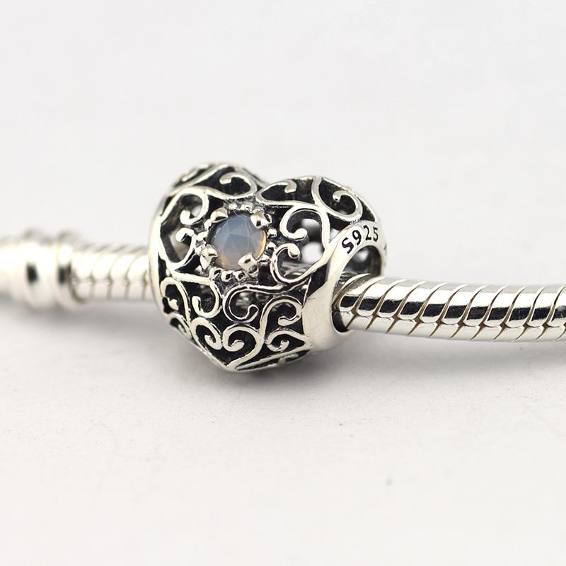 Pandora Moonstone Earrings: Pandora June Moonstone Ring