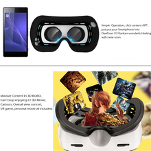 DeePoon V3 Real Virtual Reality VR Gaming 3D Glasses Headset Helmet 3D VR Adult Video w