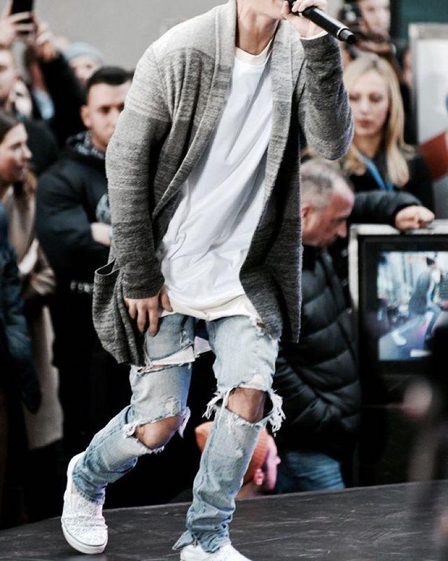 2018 New Justin Bieber Fear Of God Best Version Fog Men
