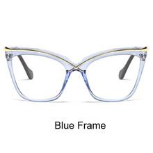 Ralferty, негабаритные очки кошачий глаз, прозрачная оправа, женские ретро большие оптические оправы, прозрачные очки, аксессуары F92107(Китай)