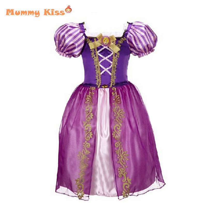 Cinderella Princess Character Dress Child 3t 4t 5 6 7: 2015 New Girls Cinderella Dresses Children Snow White