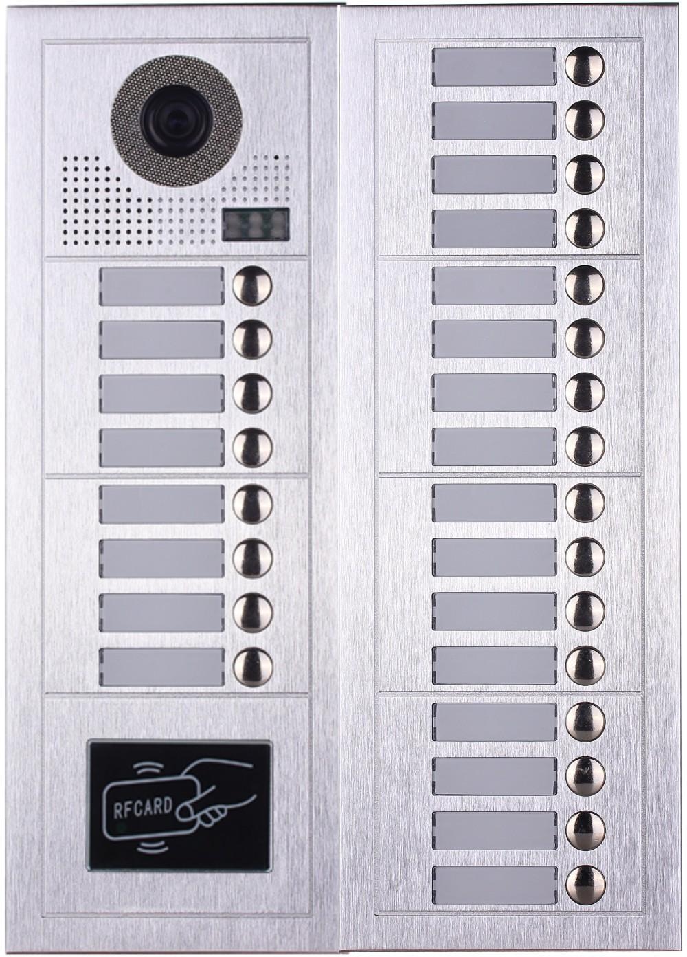 Multi Apartment Building Video Intercom System Direct