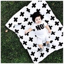 Baby Newborns Blanket Baby Bedding Blanket Swaddle 90×120 Flannel Receiving Blankets Cross Christmas tree Fashion Swaddle