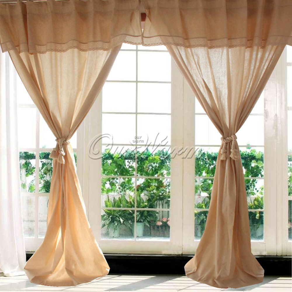 Vintage Window Curtains 40