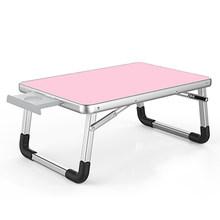 Напольный складной компьютерный стол для ноутбука 60*40 см регулируемый складной ноутбук для ноутбука ПК настольный стол подставка портатив...(Китай)