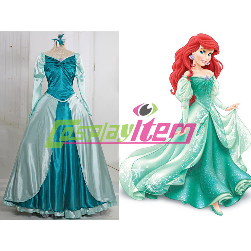 Princess Ariel Dress Princess Ariel Dress Costume For Adults