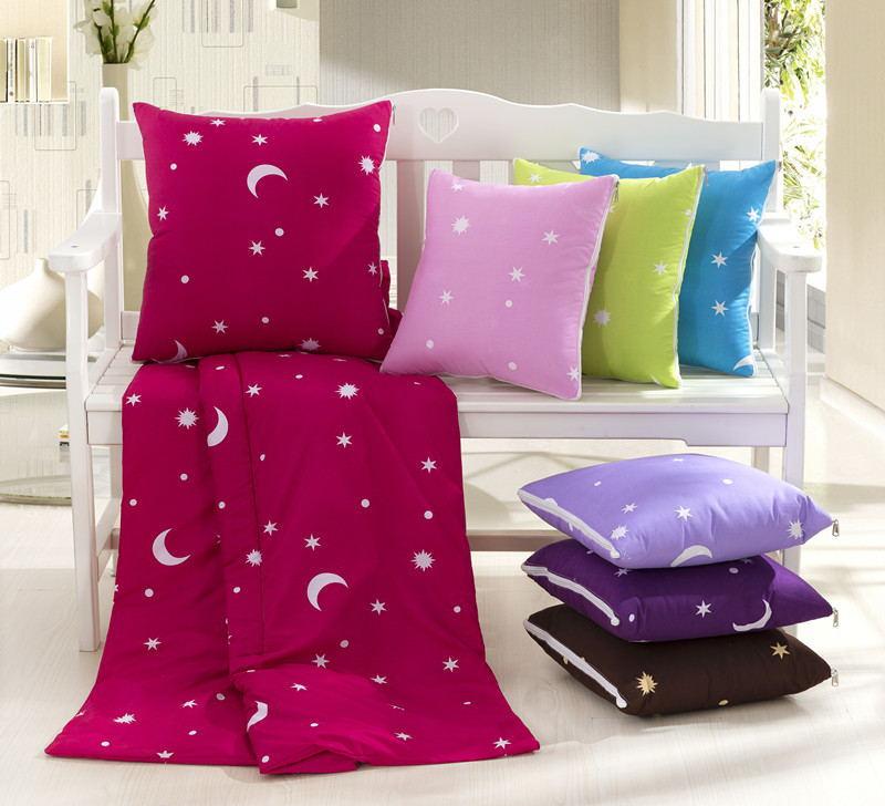 mond und die sterne waren bestimmt kinder muster kissen decke reisekissen decke. Black Bedroom Furniture Sets. Home Design Ideas