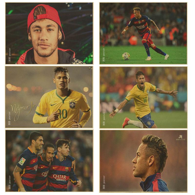 Neymar Affiche Barcelone-Achetez des lots à Petit Prix