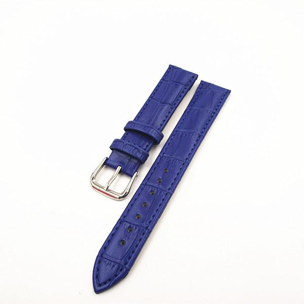 Розничная торговля - 1 шт. 18 мм из натуральной кожи ремешок для часов ремешок синий, Зеленый, Оранжевый цвет , имеющиеся в наличии 091302