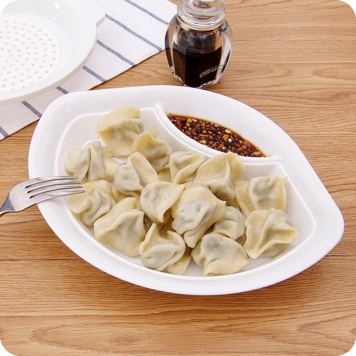 Peas Creative Dribbling Vinegar Dumplings Plastic Dish
