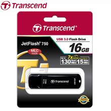 Transcend JF750 USB Flash Drive 16GB High Speed USB 3.0 130MB/s MLC Pen Drive 16GB Gift USB Flash Memory Stick 16GB