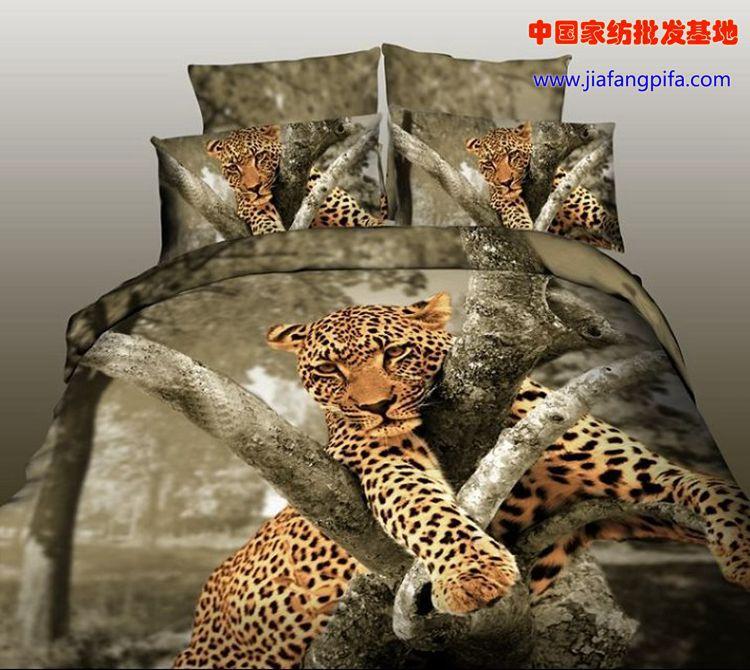 Brown Leopard Bedding Comforter Set Sets Queen Size Duvet