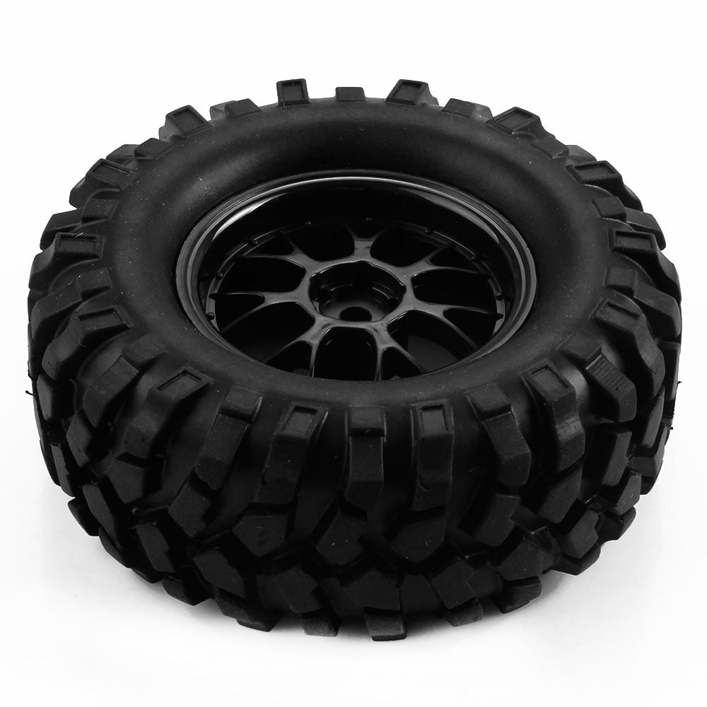 4Pcs/Set Remote Control Toy Car Rubber Tires Wheel Rim For